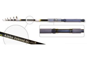 Спиннинг телескопический стеклопластик к/с Akara Alpha Telerod (20-40) 4, 5 м